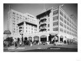 Hotel Adams in Phoenix, Arizona Photograph - Phoenix, AZ Prints by  Lantern Press