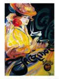 Jacqmotte Cafe Vintage Poster - Europe Prints