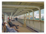 Deck View of the Patricia, Hamburg-America Line Prints by  Lantern Press
