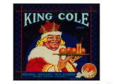 King Cole Orange Label - Redlands, CA Prints by  Lantern Press