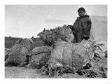 Eskimo Fur Dealer in Nome, Alaska Photograph - Nome, AK Prints by  Lantern Press