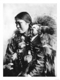 Eskimo Mother and Child in Alaska Photograph - Alaska Prints by  Lantern Press