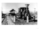 Fairbanks, Alaska View of Alaska Railroad Depot Photograph - Fairbanks, AK Prints