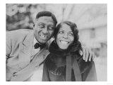 Huddie and Martha Ledbetter Photograph - Wilton, CT Prints by  Lantern Press