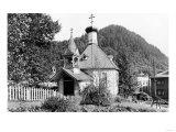 Juneau, Alaska View of Russian Church Photograph - Juneau, AK Prints by  Lantern Press