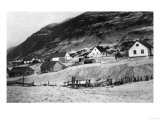Early Scene of Kodiak, Alaska Photograph - Kodiak, AK Prints