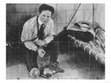 Harry Houdini About to Escape from Prison Photograph Prints by  Lantern Press