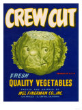 Crew Cut Lettuce Label - El Centro, CA Prints