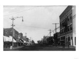 Eastern View from 4th Avenue - Caney, KS Prints by  Lantern Press