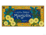 Marjolis Soap Label - Paris, France Prints by  Lantern Press