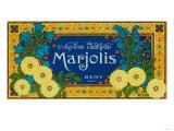 Marjolis Soap Label - Paris, France Prints by  Lantern Press