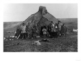 Eskimo Igloo Near Nome, Alaska Photograph - Nome, AK Prints by  Lantern Press