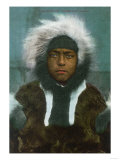 "Eskimo Boy named ""Menadelook"" - Alaska Prints"