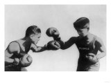 Fly Weight Boxing Champion Pancho Villa Photograph Posters