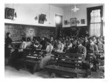 History Class Tuskegee Institute in Alabama Photograph - Alabama Prints by  Lantern Press