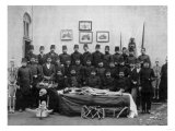 Medical Students with Cadaver Photograph - Istanbul, Turkey Prints