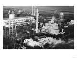 Hanford, WA Industrial Plant Photograph - Hanford, WA Prints by  Lantern Press
