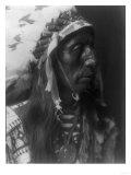 Jack Red Cloud Ogalala Indian Portrait Curtis Photograph Affiches par  Lantern Press
