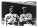 Dutch Leonard & Bill Carrigan, Boston Red Sox, Baseball Photo - Boston, MA Prints by  Lantern Press