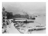 Hong Kong, China Waterfront Photograph - Hong Kong, China Prints by  Lantern Press