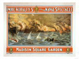 Grand Naval Spectacle Madison Square Garden Poster Prints by  Lantern Press