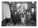 Five Boys at a New Year's Celebration in Chinatown NYC Photo - New York, NY Prints by  Lantern Press