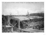 Construction of Crosley Field, Cincinatti Reds, Baseball Photo - Cincinnati, OH Art