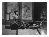 Japanese Mother with Sleeping Child Photograph - Japan Prints by  Lantern Press