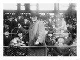 Gov. Tener throws ball, Brooklyn Dodgers, Baseball Photo - New York, NY Prints
