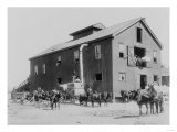 Cotton Gin in Dahomey, Mississippi, Poster