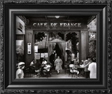 Café de France Prints by Willy Ronis