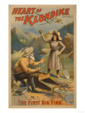 Heart of the Klondike Gold Mining Theatre Poster No.1 Print