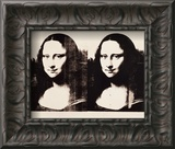Double Mona Lisa, 1963 Print by Andy Warhol