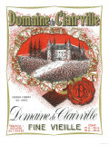 Domaine De Clairville Wine Label - Europe Prints by  Lantern Press