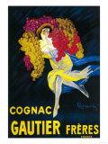 Cognac Gautier Promotional Poster - France Prints