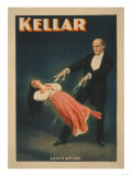 Kellar Levitation Magic Poster No.2 Prints by  Lantern Press