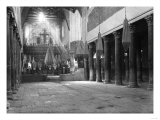 Light Shining in Church of the Nativity Photograph No.2 - Bethlehem, Palestine Art