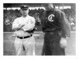 J. McGraw, NY Highlanders, F. Chance, Chicago Cubs, Baseball Photo - New York, NY Poster by  Lantern Press