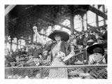 Genevieve Ebbets at Ebbets Field, Brooklyn Dodgers, Baseball Photo - New York, NY Prints