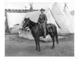 "Martha Canary ""Calamity Jane"" on Horseback Photograph Prints"