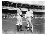 Hal Chase, NY Highlanders, John McGraw, NY Giants, Baseball Photo - New York, NY Art by  Lantern Press