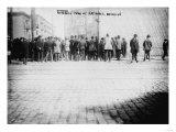 Fans Outside Ballpark, NY Giants, Baseball Photo - New York, NY Prints by  Lantern Press