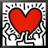 Dream Maiden - 2 Print by Keith Haring