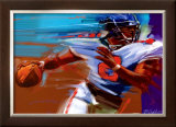 Determination: Quarterback Print by Bill Hall