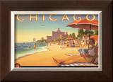 Chicago and Southern Air Prints by Kerne Erickson