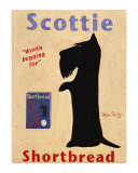 Scottie Shortbread Collectable Print by Ken Bailey