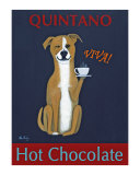 Quintano Hot Chocolate Collectable Print by Ken Bailey