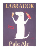 Labrador Ale Collectable Print by Ken Bailey