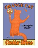 Gato naranja Láminas coleccionables por Ken Bailey
