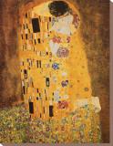 O Beijo, cerca de 1907 Impressão em tela esticada por Gustav Klimt